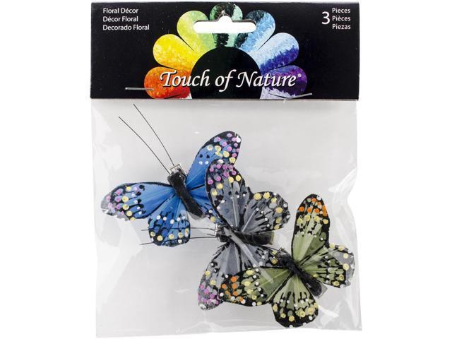 Butterflies W/Clips 2.5