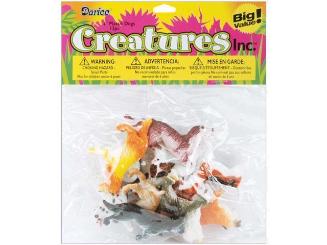 Creatures Inc.-Dogs 8/Pkg