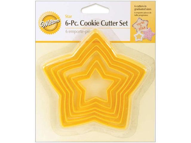 Wilton STAR NESTING PERIMETER COOKIE CUTTER SET Party