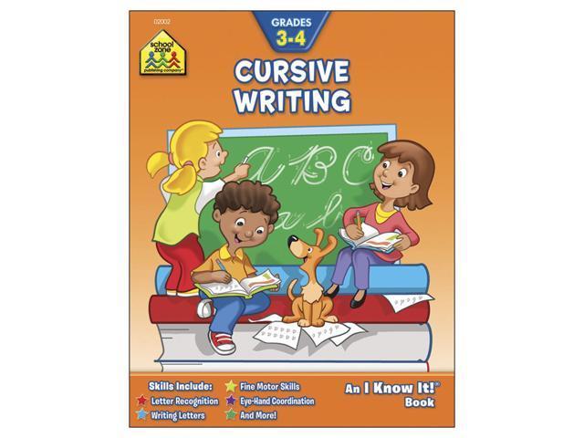 Curriculum Workbook-Cursive Writing - Grades 3-4