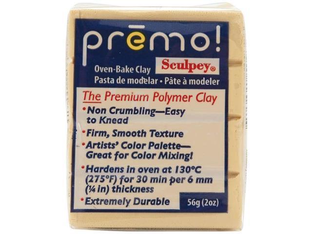 Premo Sculpey Polymer Clay 2oz-Ecru