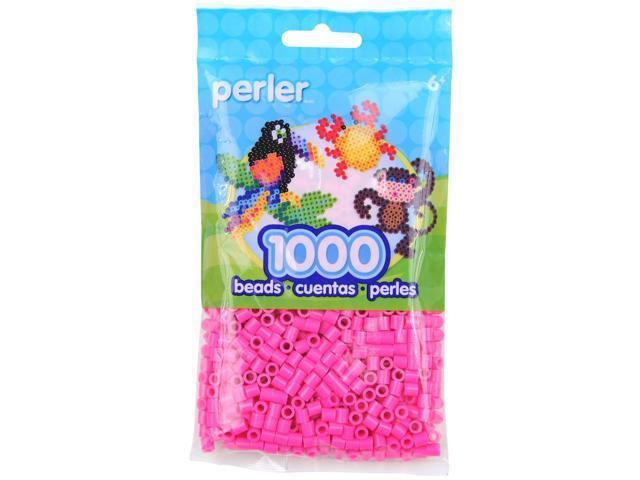 Perler Fun Fusion Beads 1000/Pkg-Pink