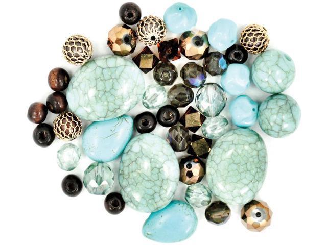Design Elements Beads 28g-Desert Springs