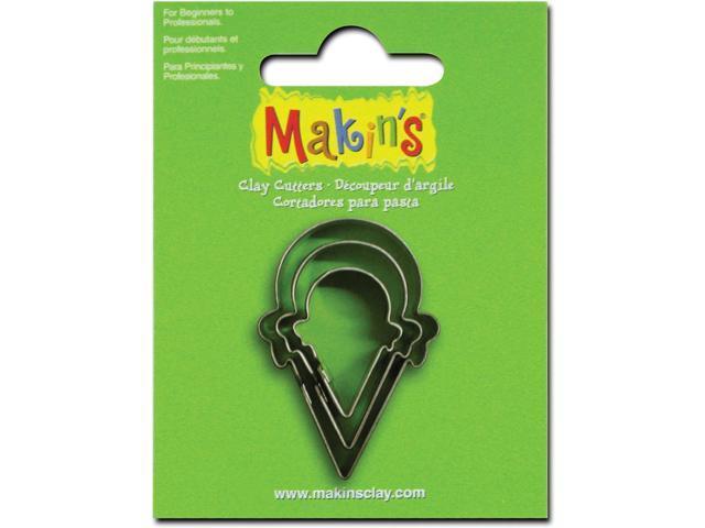 Makin's Clay Cutters 3/Pkg-Ice Cream Cone