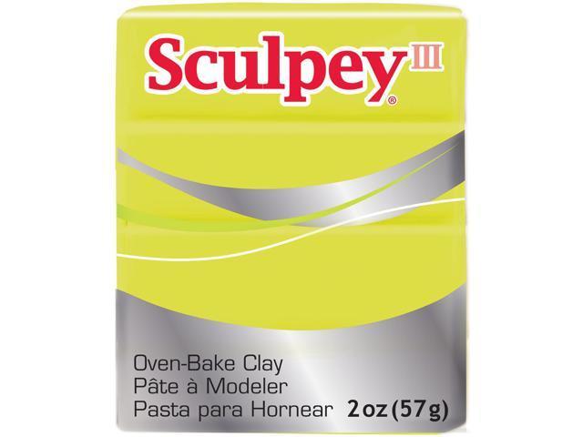 Sculpey Iii Polymer Clay 2Oz-Acid Yellow