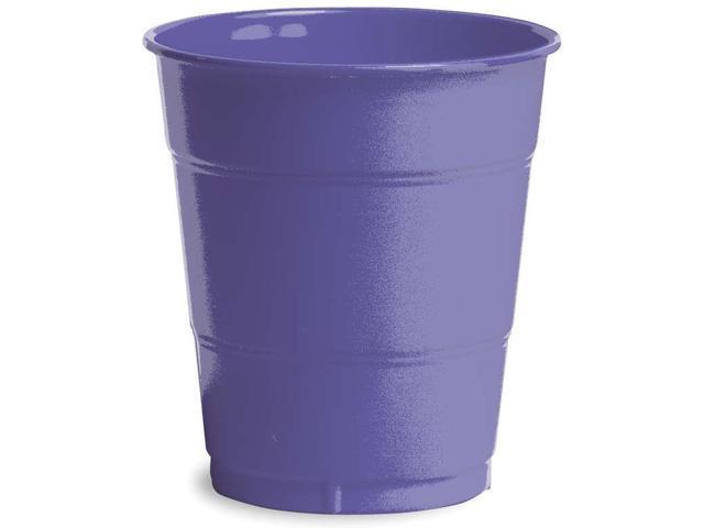 Plastic Cups 12oz 20/Pkg-Purple