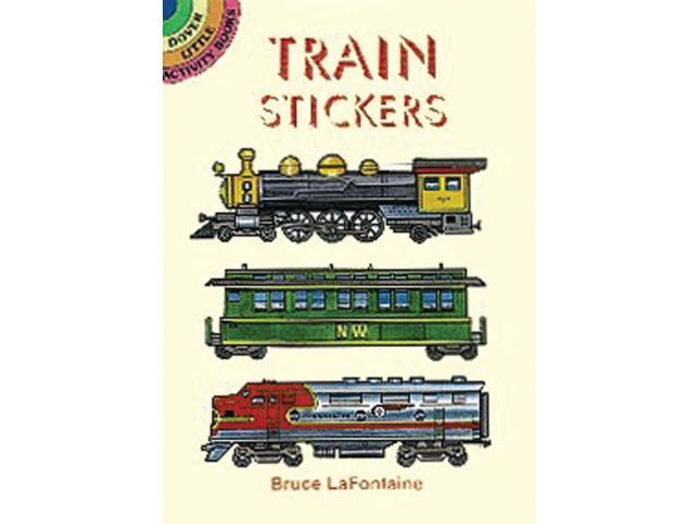 Dover Publications-Train Stickers