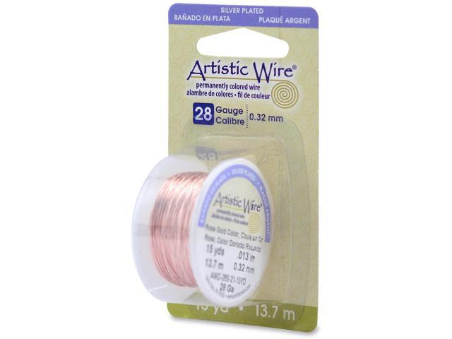 Artistic Wire 28 Gauge 15yd-Rose Gold