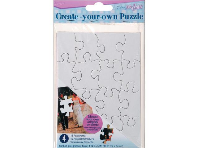 Create Your Own Puzzle 16 Pieces 4