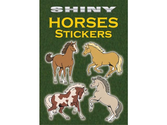 Dover Publications-Shiny Horses Stickers