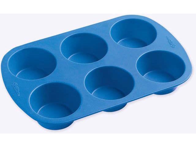 Easy-Flex Silicone Muffin Pan-6 Cavity