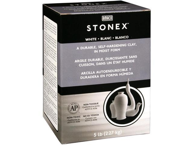 Stonex Self-Hardening Clay 5lb-White