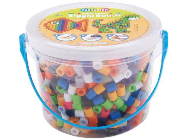 Perler BIGGIE Beads 1,200/Pkg-Assorted Colors