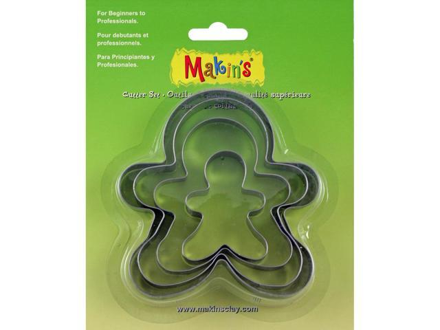 Makin's Clay Cutters 4/Pkg-Gingerbread Man