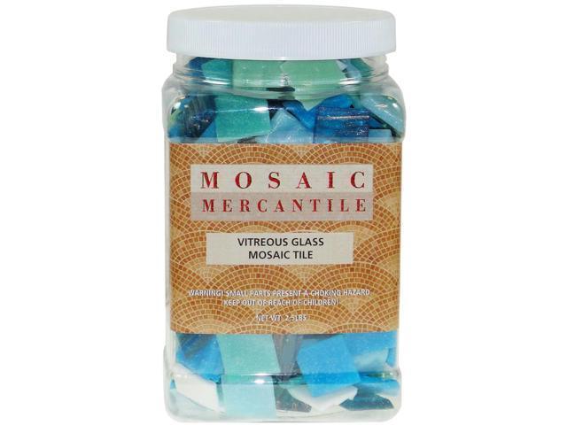 Vitreous Glass Mosaic Tiles 2.5lb-Horizon