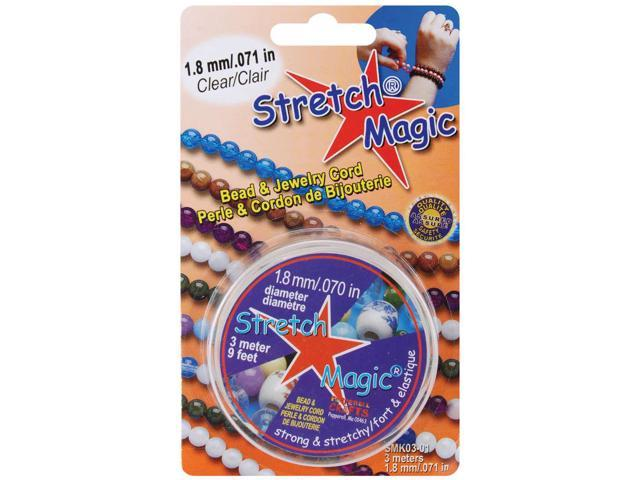 Stretch Magic Bead & Jewelry Cord 1.8mm 3 Meters/Pkg-Clear