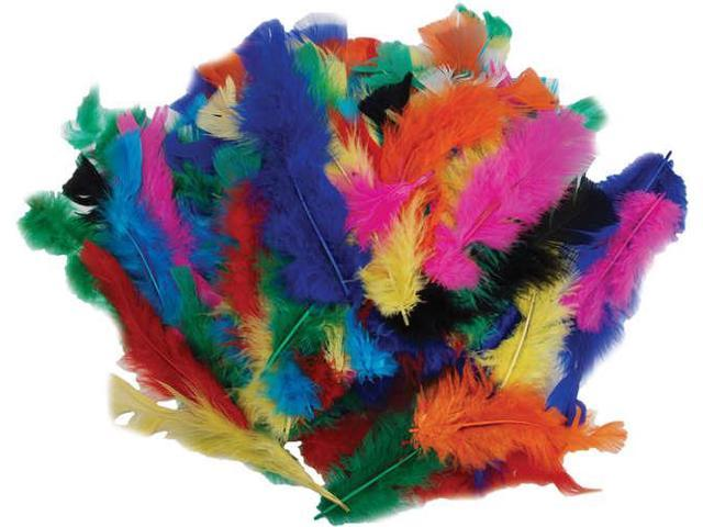 Fluffy Marabou Feathers 34g-Assorted Colors