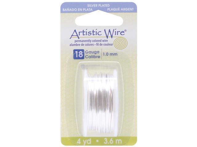 Artistic Wire-Silver - 18 Gauge, 4yd