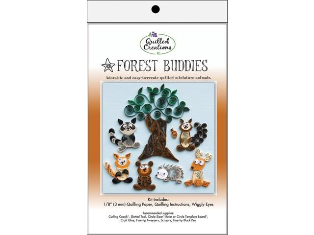 Quilling Kit-Forest Buddies