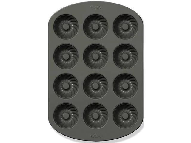 Mini Fluted Muffin Pan-Classics 12 Cavity