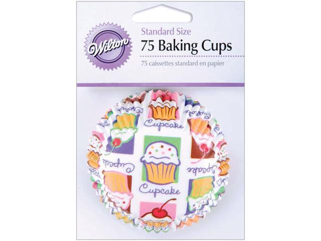 Standard Baking Cups-Cupcake Heaven 75/Pkg