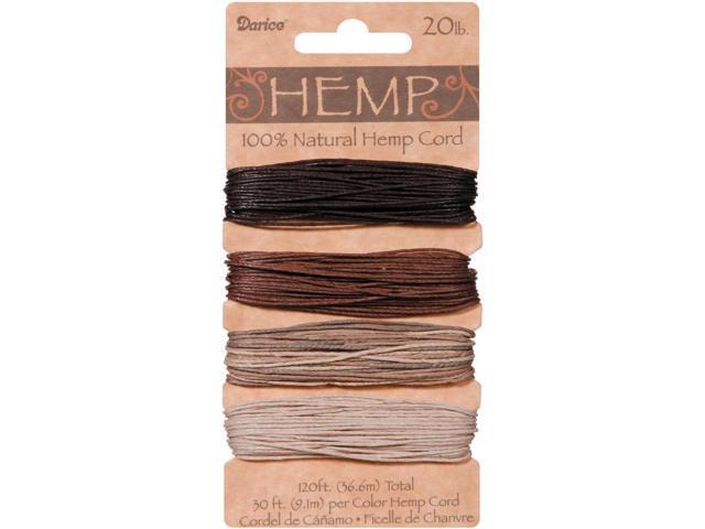 Hemp Cord 20lb 120'-Earthy