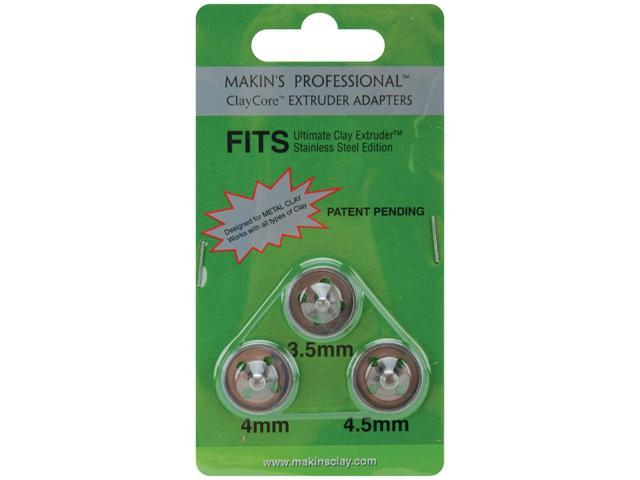 Makin's Professional ClayCore Extruder Adapters 3/Pkg-3.5mm, 4mm & 5mm