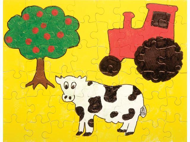 Color Your Own Puzzle 48 Pieces 8.5