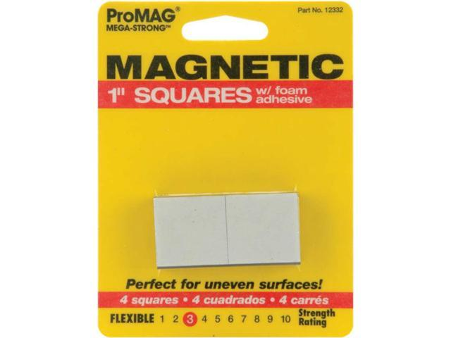 ProMag Square Magnets W/Foam Adhesive-1