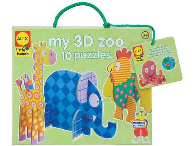 My 3D Zoo Puzzle Kit-