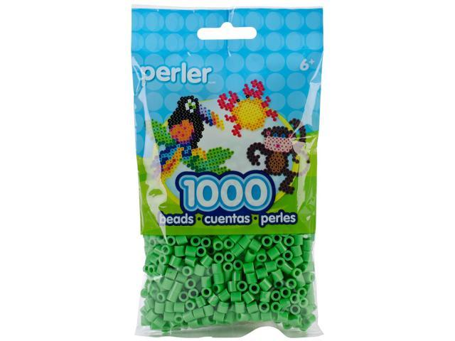 Perler Fun Fusion Beads 1000/Pkg-Bright Green