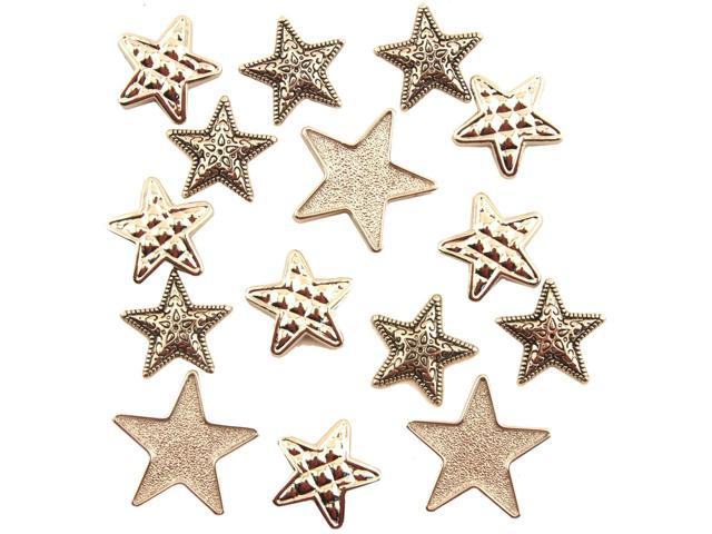 Button Theme Pack-Silver Stars