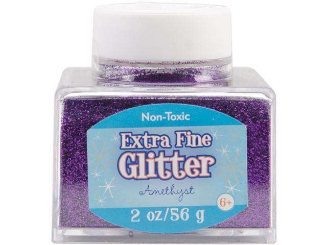 Fine Glitter 2 Ounces-Amethyst