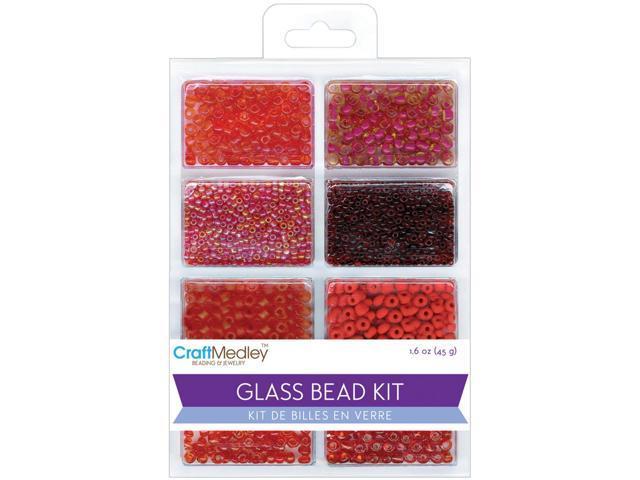 Glass Bead Kit 45g-Rouge