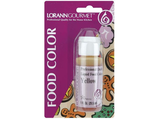 Liquid Food Color 1oz-Yellow