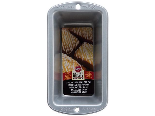 Recipe Right Mini Loaf Pan-5.75