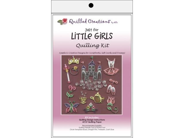 Quilling Kit-Just for Little Girls