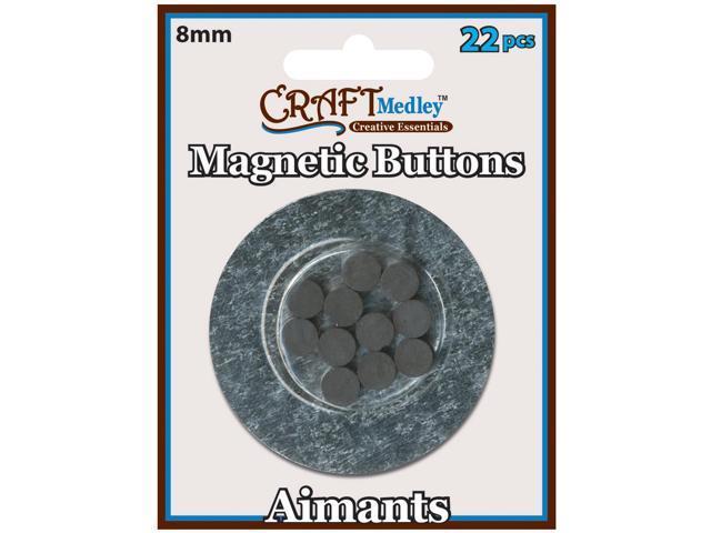Magnetic Buttons-8mm 22/Pkg
