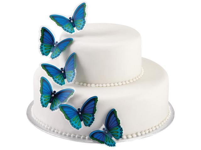 Butterfly Cake Pick 12/Pkg-Cool