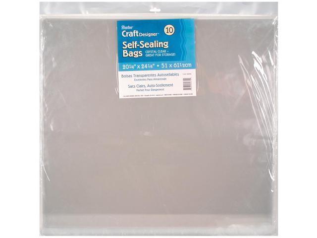 Self-Sealing Bags 10/Pkg-20.25