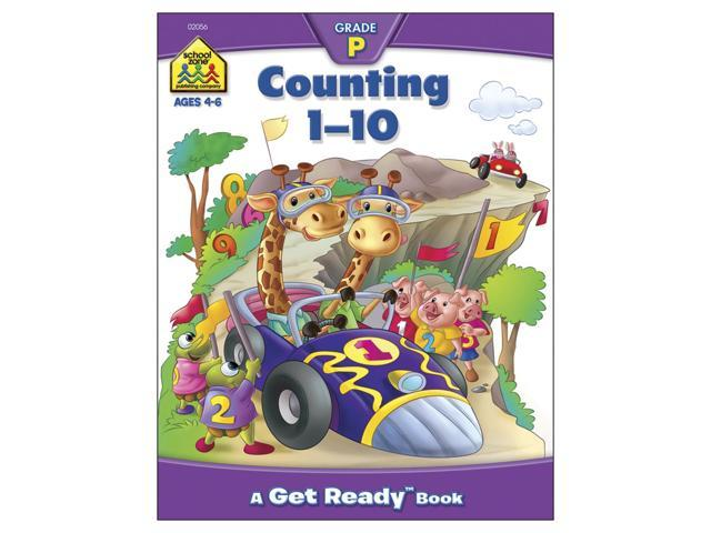 Preschool Workbooks-Counting 1-10 - Ages 3-5