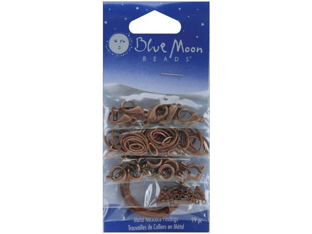 Blue Moon Value Pack Metal Findings-Assorted Copper Necklace 99/Pkg