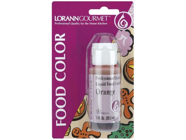 Liquid Food Color 1oz-Orange