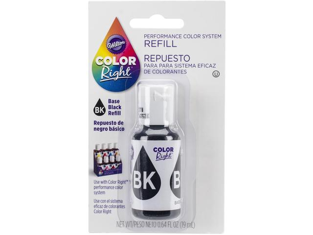 Color Right Performance Color System Refill .7oz-Black