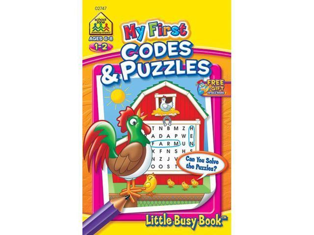 My First Little Busy Book-Codes & Puzzles - Grades 1-2