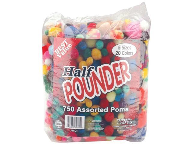 Poms Half Pounder Assorted 750/Pkg-Standard