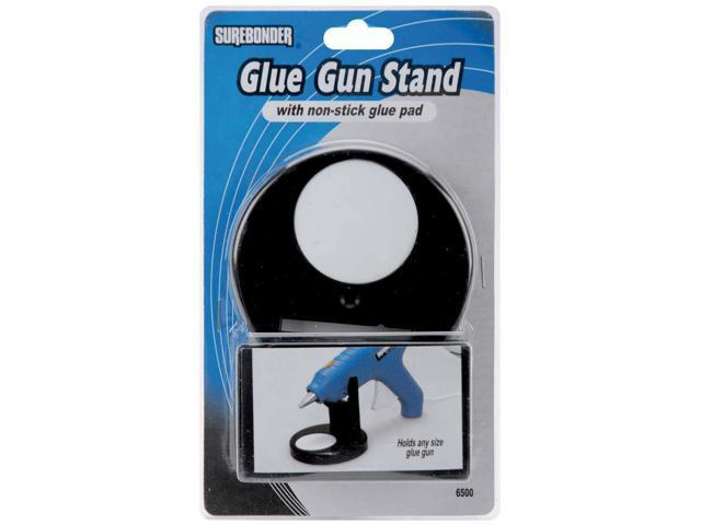 Glue Gun Stand W/Non-Stick Glue Pad-Black
