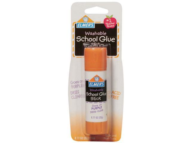 Elmer's Washable School Glue Stick - Purple-.77oz