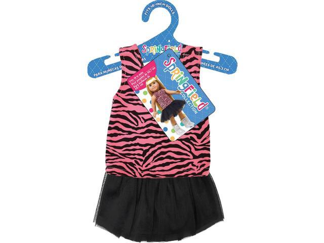 Springfield Collection Tank & Tutu-Pink Zebra & Black