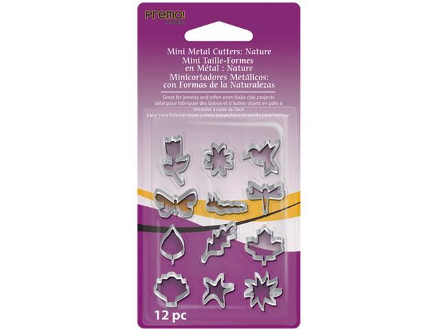 Premo Sculpey Mini Metal Cutters 12/Pkg-Nature
